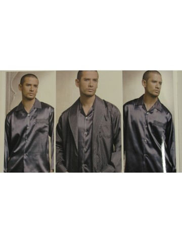 Guzel Bridal Grey Grooms 5 Piece Pajama Set