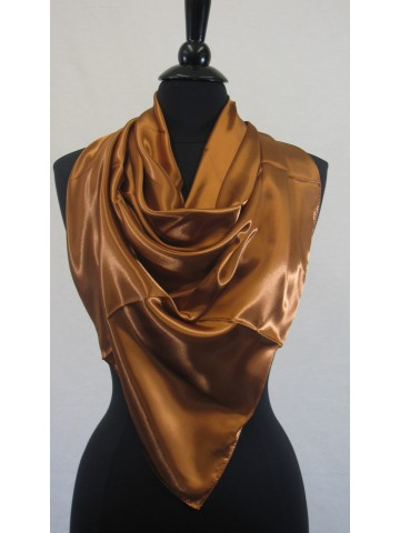 Guzel Scarf Copper Sateen