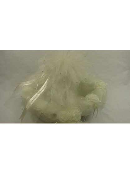 Guzel Bridal Small Tulle Gift Basket